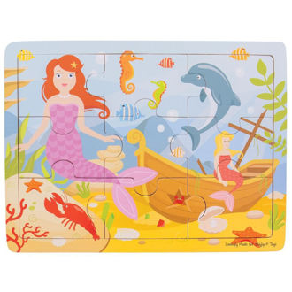 Picture of Tray Puzzle - Mermaid