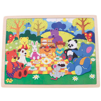 Picture of Picnic in the Park Tray Puzzle