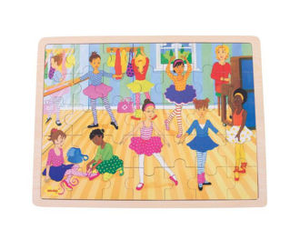 Picture of Ballet Tray Puzzle