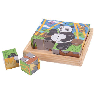 Picture of Wild Animal Cube Puzzle