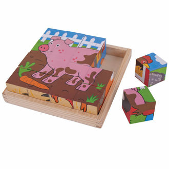 Picture of Farm Cube Puzzle