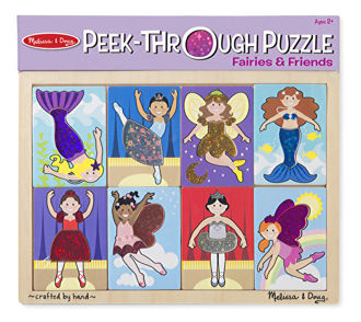 Picture of Peek-Through Puzzle Fairies and Friends