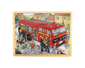Picture of Tray Puzzle Fire Engine