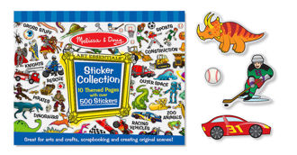 Picture of Reusable Sticker Collection :Blue