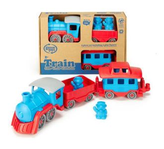 Picture of Green Toys Train - Blue