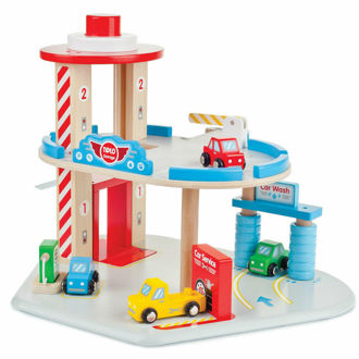 Picture of Tidlo Wooden Garage Playset