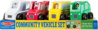 Picture of Melissa & Doug Community Vehicles Play Set