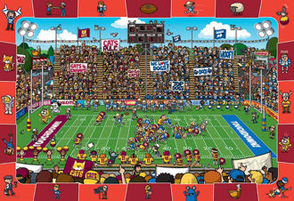 Picture of FOOTBALL PUZZLE (SPOT & FIND)