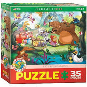 Picture of Eurographic Puzzles- Little Red Riding Hood 35Pcs