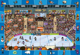 Picture of PUZZLE HOCKEY 100PCS