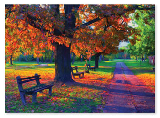 Picture of Walk in the Park Jigsaw