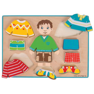 Picture of Dressing Boy Puzzle