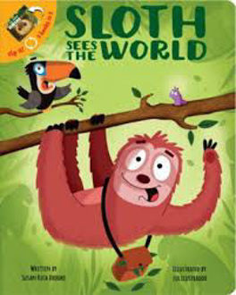 Picture of Sloth sees the World Flip it 2 books in 1