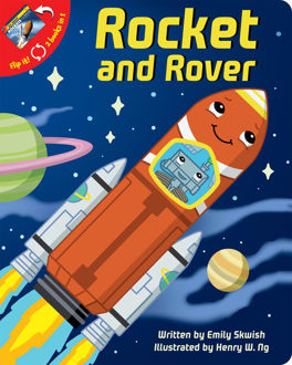 Picture of Rocket and Rover flip it 2 books in 1