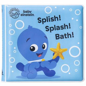 Picture of Baby Einstein Bath Book Splish! Splash! Bath!