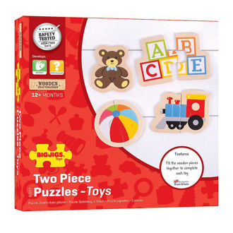 Picture of Two Piece Puzzles (Toys)