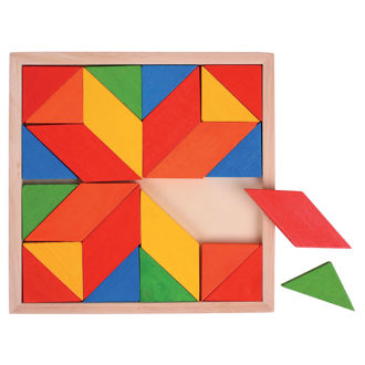 Picture of Wooden Mosaic puzzle