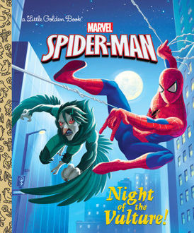 Picture of Marvel Spider-Man Night of the Vulture! A Little Golden Book