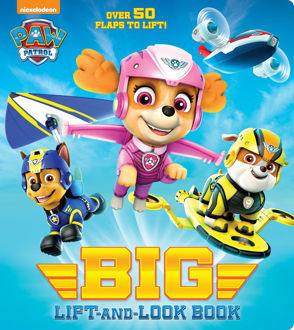 Picture of Paw Patrol Big Lift-and - Look Board Book