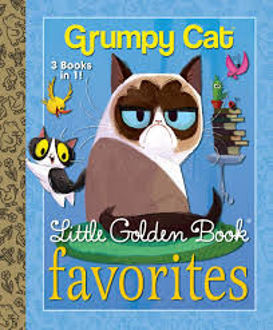 Picture of Grumpy Cat 3 books in 1! Little Golden Books Favorites