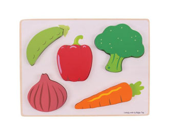 Picture of Lift and See Puzzle (Vegetables)