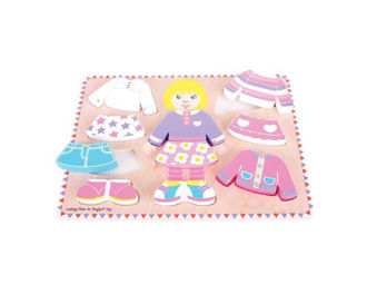 Picture of Dressing Girl Puzzle