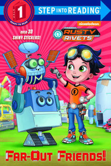 Picture of Rusty Rivets Step into Reading Far-Out Friends! Over 30 stickers