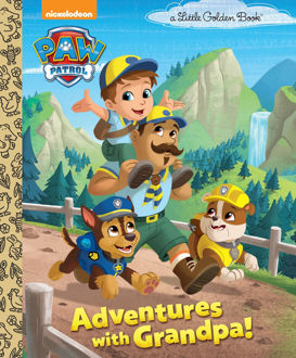 Picture of Paw Patrol A Little Golden Books Adventures with Grandpa!