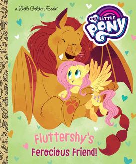 Picture of My Little Pony Fluttershy's Ferocious Friend! A Little Golden Book