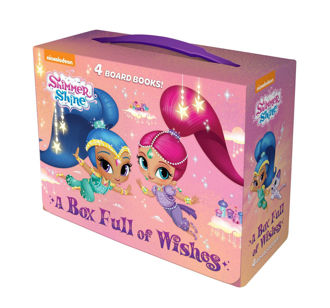Picture of Shimmer and Shine A Box full of Wishes 4 board books
