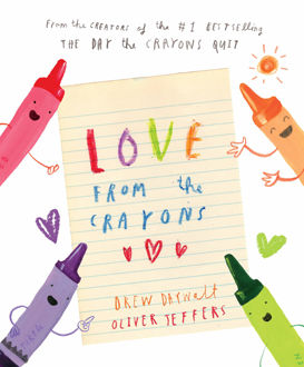 Picture of Love from the crayons