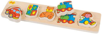 Picture of Bigjigs Toys Chunky Lift and Match Toys Puzzle