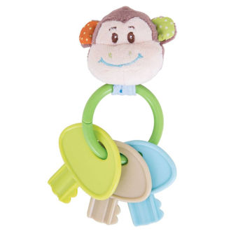 Picture of Cheeky Monkey Key Rattle