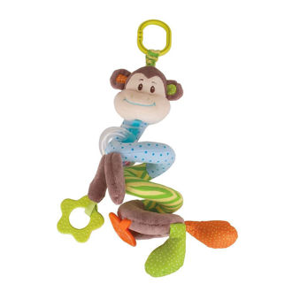 Picture of Cheeky Monkey Spiral Cot Rattle