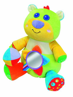 Picture of Parkfield Premium Developmental Baby Learning Rattle Toy For Activity - Baby Bear
