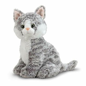 Picture of Greycie Tabby Cat Stuffed Animal