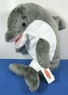 Picture of Skimmer Plush Dolphin Stuffed Toy
