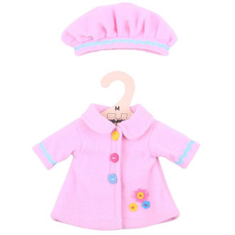 Picture of Pink Hat and Coat (for 34cm Doll)