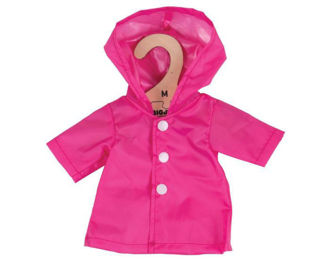 Picture of Pink Raincoat (for 34cm Doll)
