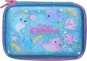 Picture of Smily Kiddos Pencil Case Narwhale Theme