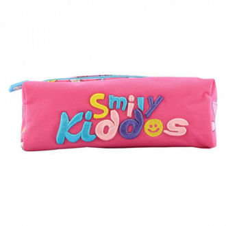 Picture of Smily Kiddos Twin Zipper Pencil Pouch Pink