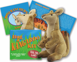 Picture of Hug a Kangaroo Kit (Book with Plush)