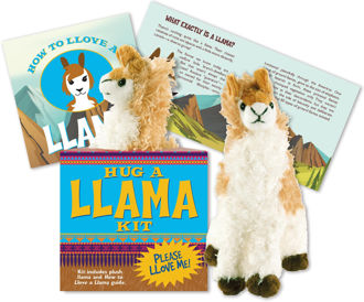 Picture of Hug a Llama Kit (book with plush)