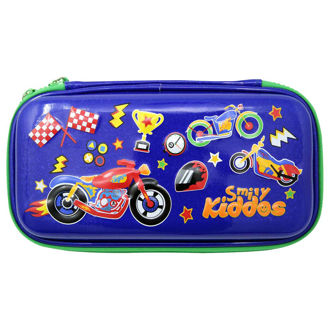 Picture of Smily Kiddos Motor Racing Small Pencil Case Blue