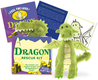 Picture of Dragon Rescue Kit (Plush Toy and Book)