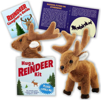 Picture of Hug a Reindeer Kit (book with plush)