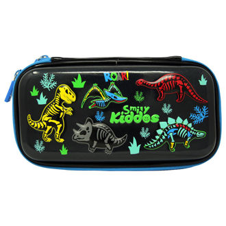 Picture of Smily Kiddos Fancy Dino Small Pencil Case Black