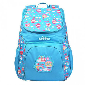 Picture of Smily Kiddos Wacky access backpack light blue