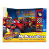 Picture of Nickelodeon Blaze and the Monster Machines - My Friend Blaze Play-a-Sound Book and Cuddly Blaze Plush