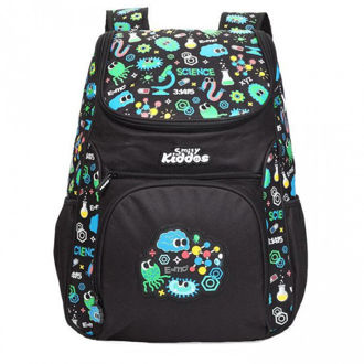Picture of Smily Kiddos Wacky access backpack black